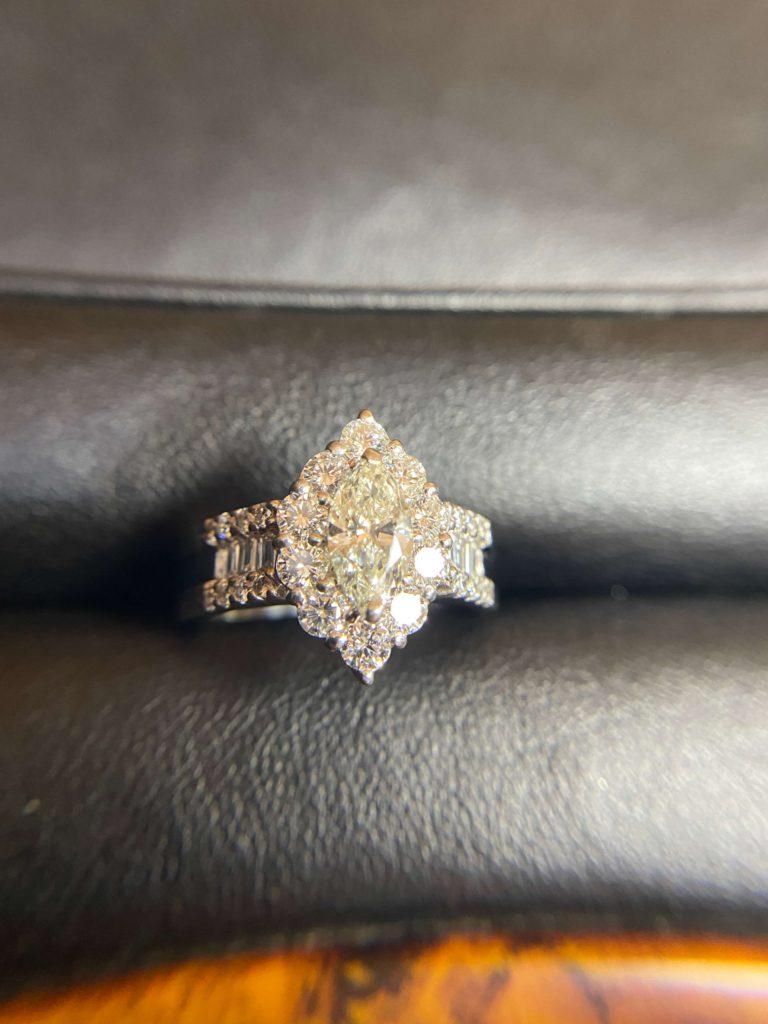 0.6ctのダイヤリング