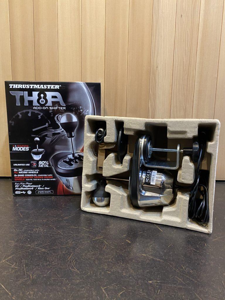 スラストマスター TH8A ADD-ON シフター