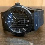 HUBLOT/ウブロの腕時計 クラシックフュージョン ブラックマジック 買取しました。